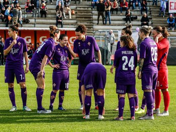 AS Roma Women vs Fiorentina Women's - SERIE A FEMMINILE - CALCIO