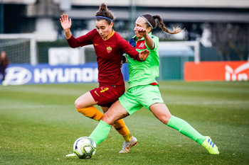 09/02/2019 - Angelica Soffia (RM) e Deborah Salvatori (FI) - AS ROMA WOMEN VS FLORENTIA SSDRAL - SERIE A FEMMINILE - CALCIO