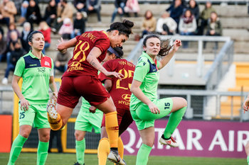 09/02/2019 - Martina Piemonte (RM) di testa - AS ROMA WOMEN VS FLORENTIA SSDRAL - SERIE A FEMMINILE - CALCIO