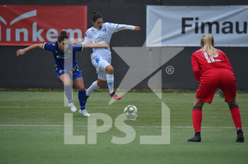 16/11/2019 - Zanoletti Stefania - difensore - Hellas Verona Women - (#27)Papaleo Francesca - attaccante - Empoli Ladies - (#9) - HELLAS VERONA WOMEN VS EMPOLI LADIES - SERIE A FEMMINILE - CALCIO