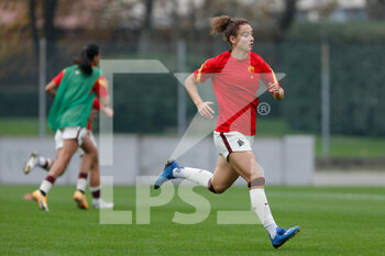 15/11/2020 - Angelica Soffia (AS Roma) warming up before the match - AC MILAN VS AS ROMA - SERIE A FEMMINILE - CALCIO