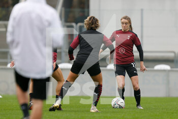 15/11/2020 - Christy Grimshaw (AC Milan) warming up before the match - AC MILAN VS AS ROMA - SERIE A FEMMINILE - CALCIO