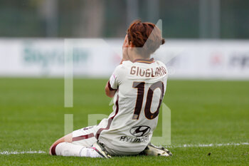 15/11/2020 - Manuela Giugliano (AS Roma) desperation after a missed opportunity - AC MILAN VS AS ROMA - SERIE A FEMMINILE - CALCIO