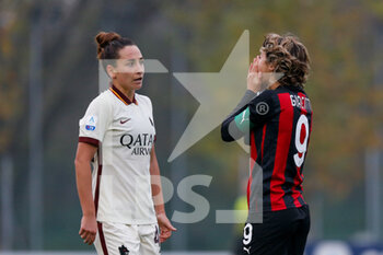 15/11/2020 - Valentina Giacinti (AC Milan) desperation after a missed goal opportunity - AC MILAN VS AS ROMA - SERIE A FEMMINILE - CALCIO