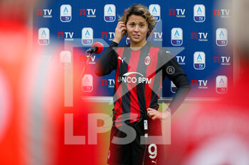 15/11/2020 - Valentina Giacinti (AC Milan) interview after the match - AC MILAN VS AS ROMA - SERIE A FEMMINILE - CALCIO