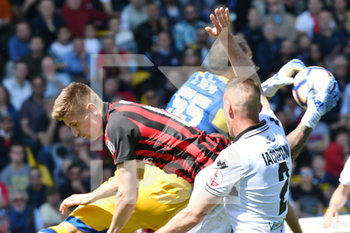 20/04/2019 - Piatek in area - PARMA VS MILAN  - SERIE A - CALCIO