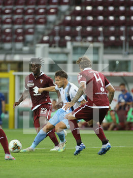30/06/2020 - Ciro Immobile (Lazio) fight for the ball against Lazio players - TORINO VS LAZIO - SERIE A - CALCIO