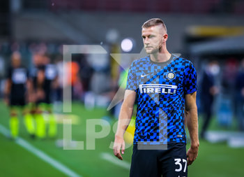 28/07/2020 - Milan Skriniar of FC Internazionale during the Serie A 2019/20 match between FC Internazionale vs SSC Napoli at the San Siro Stadium, Milan, Italy on July 28, 2020 - Photo Fabrizio Carabelli - INTER VS NAPOLI - SERIE A - CALCIO