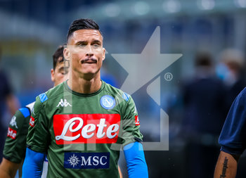 28/07/2020 - Jose Callejon of SSC Napoli during the Serie A 2019/20 match between FC Internazionale vs SSC Napoli at the San Siro Stadium, Milan, Italy on July 28, 2020 - Photo Fabrizio Carabelli - INTER VS NAPOLI - SERIE A - CALCIO