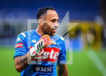 28/07/2020 - David Ospina of SSC Napoli during the Serie A 2019/20 match between FC Internazionale vs SSC Napoli at the San Siro Stadium, Milan, Italy on July 28, 2020 - Photo Fabrizio Carabelli - INTER VS NAPOLI - SERIE A - CALCIO