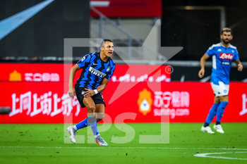 28/07/2020 - Alexis Sanchez of FC Internazionale during the Serie A 2019/20 match between FC Internazionale vs SSC Napoli at the San Siro Stadium, Milan, Italy on July 28, 2020 - Photo Fabrizio Carabelli - INTER VS NAPOLI - SERIE A - CALCIO