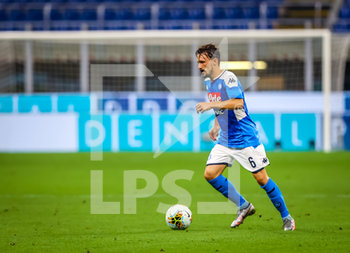 28/07/2020 - Mario Rui of SSC Napoli during the Serie A 2019/20 match between FC Internazionale vs SSC Napoli at the San Siro Stadium, Milan, Italy on July 28, 2020 - Photo Fabrizio Carabelli - INTER VS NAPOLI - SERIE A - CALCIO