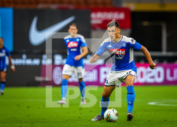 28/07/2020 - Eljif Elmas of SSC Napoli during the Serie A 2019/20 match between FC Internazionale vs SSC Napoli at the San Siro Stadium, Milan, Italy on July 28, 2020 - Photo Fabrizio Carabelli - INTER VS NAPOLI - SERIE A - CALCIO
