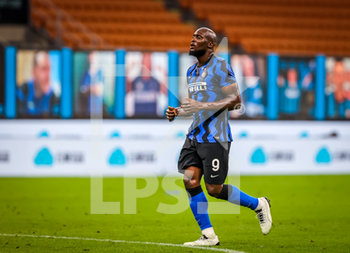 28/07/2020 - Romelu Lukaku of FC Internazionale during the Serie A 2019/20 match between FC Internazionale vs SSC Napoli at the San Siro Stadium, Milan, Italy on July 28, 2020 - Photo Fabrizio Carabelli - INTER VS NAPOLI - SERIE A - CALCIO