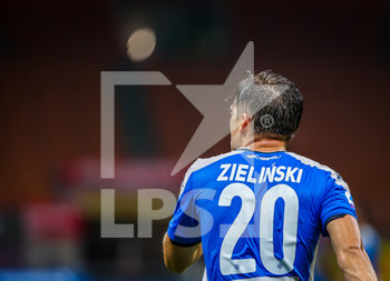 28/07/2020 - Piotr Zielinski of SSC Napoli during the Serie A 2019/20 match between FC Internazionale vs SSC Napoli at the San Siro Stadium, Milan, Italy on July 28, 2020 - Photo Fabrizio Carabelli - INTER VS NAPOLI - SERIE A - CALCIO