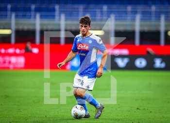 28/07/2020 - Diego Demme of SSC Napoli during the Serie A 2019/20 match between FC Internazionale vs SSC Napoli at the San Siro Stadium, Milan, Italy on July 28, 2020 - Photo Fabrizio Carabelli - INTER VS NAPOLI - SERIE A - CALCIO
