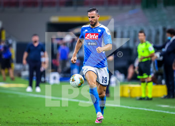 28/07/2020 - Nikola Maksimovic of SSC Napoli during the Serie A 2019/20 match between FC Internazionale vs SSC Napoli at the San Siro Stadium, Milan, Italy on July 28, 2020 - Photo Fabrizio Carabelli - INTER VS NAPOLI - SERIE A - CALCIO
