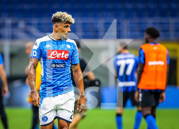 28/07/2020 - Kevin Malcuit of SSC Napoli during the Serie A 2019/20 match between FC Internazionale vs SSC Napoli at the San Siro Stadium, Milan, Italy on July 28, 2020 - Photo Fabrizio Carabelli - INTER VS NAPOLI - SERIE A - CALCIO