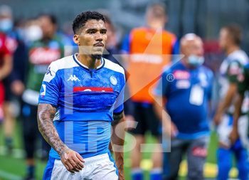 28/07/2020 - Allan of SSC Napoli during the Serie A 2019/20 match between FC Internazionale vs SSC Napoli at the San Siro Stadium, Milan, Italy on July 28, 2020 - Photo Fabrizio Carabelli - INTER VS NAPOLI - SERIE A - CALCIO