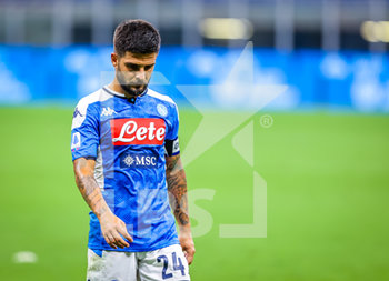 28/07/2020 - Lorenzo Insigne of SSC Napoli during the Serie A 2019/20 match between FC Internazionale vs SSC Napoli at the San Siro Stadium, Milan, Italy on July 28, 2020 - Photo Fabrizio Carabelli - INTER VS NAPOLI - SERIE A - CALCIO