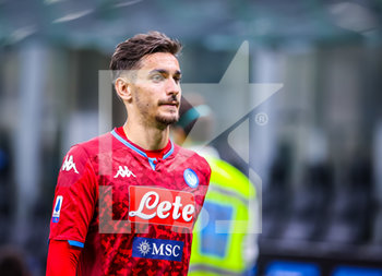 28/07/2020 - Alex Meret of SSC Napoli during the Serie A 2019/20 match between FC Internazionale vs SSC Napoli at the San Siro Stadium, Milan, Italy on July 28, 2020 - Photo Fabrizio Carabelli - INTER VS NAPOLI - SERIE A - CALCIO