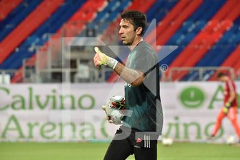 29/07/2020 - Gianluigi Buffon of Juventus - CAGLIARI VS JUVENTUS - SERIE A - CALCIO
