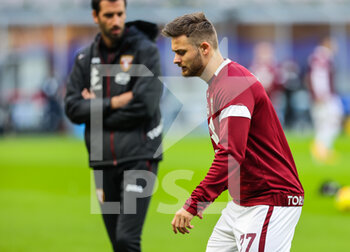 22/11/2020 - Karol Linetty of Torino FC during the Serie A 2020/21 match between FC Internazionale vs Torino FC at the San Siro Stadium, Milan, Italy on November 22, 2020 - Photo FCI/Fabrizio Carabelli - INTER VS TORINO - SERIE A - CALCIO