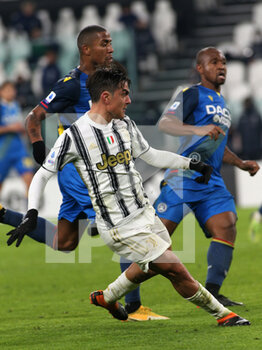 03/01/2021 - 10 Paulo Dybala (JUVENTUS FC) scores the goal of 4-1 - JUVENTUS VS UDINESE - SERIE A - CALCIO