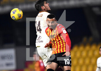 21/02/2021 - Roberto Insigne (Benevento Calcio ) - BENEVENTO CALCIO VS AS ROMA - SERIE A - CALCIO