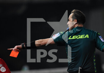 21/02/2021 - Luca Pairetto ( referee ) - BENEVENTO CALCIO VS AS ROMA - SERIE A - CALCIO