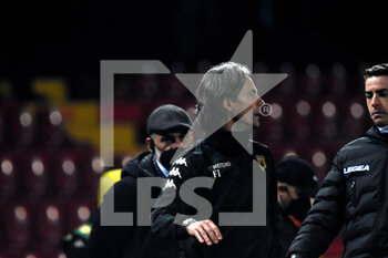 21/02/2021 - Filippo Inzaghi ( coach ) Benevento Calcio - BENEVENTO CALCIO VS AS ROMA - SERIE A - CALCIO