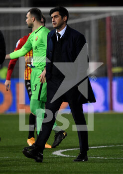 21/02/2021 - Paulo Fonseca ( coach ) (AC ROMA - BENEVENTO CALCIO VS AS ROMA - SERIE A - CALCIO