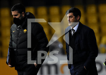 21/02/2021 - disappointment Paulo Fonseca ( coach ) (AC ROMA ) - BENEVENTO CALCIO VS AS ROMA - SERIE A - CALCIO
