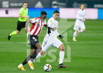 Semifinal - Real Madrid and Athletic Club Bilbao - SPANISH SUPER CUP - CALCIO