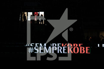 28/01/2020 - Tributo morte Kobe Bryant, 24 (Los Angeles Lakers)