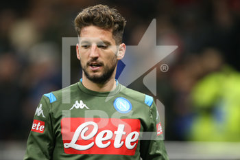 12/02/2020 - Dries Mertens (Napoli) - SEMIFINALI - INTER VS NAPOLI - COPPA ITALIA - CALCIO