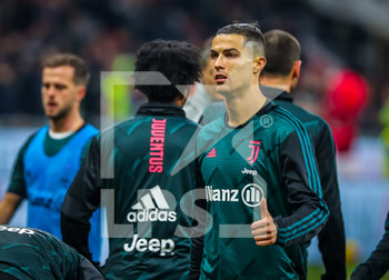 13/02/2020 - Cristiano Ronaldo of Juventus during the Coppa Italia 2019/20 match between AC Milan vs Juventus at the San Siro Stadium, Milan, Italy on February 13, 2020 - Photo Fabrizio Carabelli - MILAN VS JUVENTUS -  - CALCIO