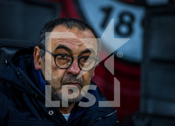 13/02/2020 - Head Coach of Juventus Maurizio Sarri during the Coppa Italia 2019/20 match between AC Milan vs Juventus at the San Siro Stadium, Milan, Italy on February 13, 2020 - Photo Fabrizio Carabelli - MILAN VS JUVENTUS -  - CALCIO