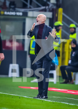 13/02/2020 - Head Coach of AC Milan Stefano Pioli  - MILAN VS JUVENTUS -  - CALCIO