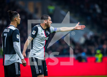 13/02/2020 - Leonardo Bonucci of Juventus during the Coppa Italia 2019/20 match between AC Milan vs Juventus at the San Siro Stadium, Milan, Italy on February 13, 2020 - Photo Fabrizio Carabelli - MILAN VS JUVENTUS -  - CALCIO