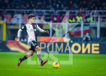 13/02/2020 - Paulo Dybala of Juventus during the Coppa Italia 2019/20 match between AC Milan vs Juventus at the San Siro Stadium, Milan, Italy on February 13, 2020 - Photo Fabrizio Carabelli - MILAN VS JUVENTUS -  - CALCIO