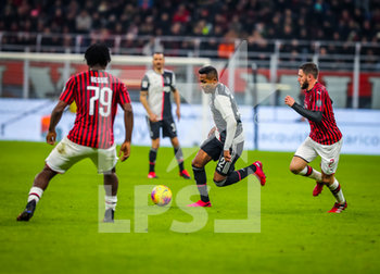 13/02/2020 - Alex Sandro of Juventus during the Coppa Italia 2019/20 match between AC Milan vs Juventus at the San Siro Stadium, Milan, Italy on February 13, 2020 - Photo Fabrizio Carabelli - MILAN VS JUVENTUS -  - CALCIO