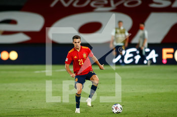 06/09/2020 - Sergio Reguilon of Spain in action during the UEFA Nations League football match between Spain and Ukraine on september 06, 2020 at Alfredo Di Stefano stadium in Valdebebas near Madrid, Spain - Photo Oscar J Barroso / Spain DPPI / DPPI - SPAGNA VS UCRAINA - UEFA NATIONS LEAGUE - CALCIO