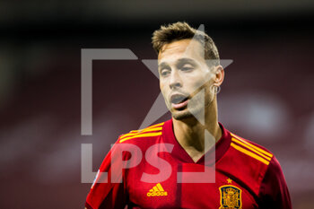 17/11/2020 - Sergio Canales of Spain during the UEFA Nations league football match between Spain and Germany on November 17, 2020 at the la Cartuja Stadium in Sevilla, Spain - Photo Joaquin Corchero / Spain DPPI / DPPI - SPAIN VS GERMANY - UEFA NATIONS LEAGUE - CALCIO
