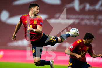 17/11/2020 - Ferran Torres of Spain during the UEFA Nations league football match between Spain and Germany on November 17, 2020 at the la Cartuja Stadium in Sevilla, Spain - Photo Joaquin Corchero / Spain DPPI / DPPI - SPAIN VS GERMANY - UEFA NATIONS LEAGUE - CALCIO