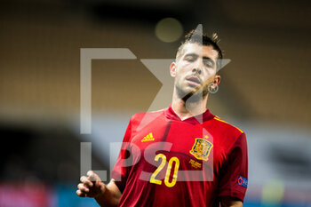 17/11/2020 - Sergi Roberto of Spain during the UEFA Nations league football match between Spain and Germany on November 17, 2020 at the la Cartuja Stadium in Sevilla, Spain - Photo Joaquin Corchero / Spain DPPI / DPPI - SPAIN VS GERMANY - UEFA NATIONS LEAGUE - CALCIO