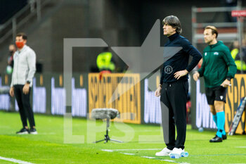 17/11/2020 - Joachim Low, head coach of Germany during the UEFA Nations league football match between Spain and Germany on November 17, 2020 at the la Cartuja Stadium in Sevilla, Spain - Photo Joaquin Corchero / Spain DPPI / DPPI - SPAIN VS GERMANY - UEFA NATIONS LEAGUE - CALCIO