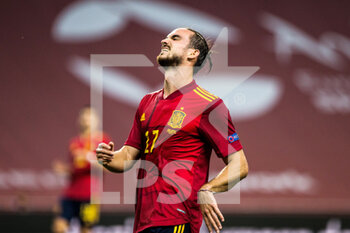 17/11/2020 - Fabian Ruiz of Spain during the UEFA Nations league football match between Spain and Germany on November 17, 2020 at the la Cartuja Stadium in Sevilla, Spain - Photo Joaquin Corchero / Spain DPPI / DPPI - SPAIN VS GERMANY - UEFA NATIONS LEAGUE - CALCIO
