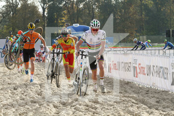07/11/2020 - Ryan Kamp (NED) during the 2020 UEC Cyclo-Cross European Championships, Men Under 23, on november 7, 2020 in Rosmalen, The Netherlands - Photo Orange Pictures / DPPI - 2020 UEC CYCLO-CROSS EUROPEAN CHAMPIONSHIPS, MEN UNDER 23 - CICLOCROSS - CICLISMO