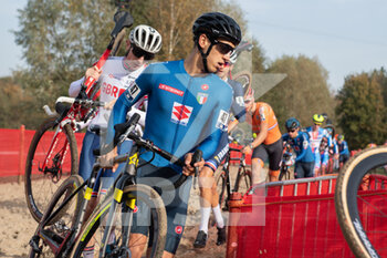 07/11/2020 - Federico Ceolin (ITA) during the 2020 UEC Cyclo-Cross European Championships, Men Under 23, on november 7, 2020 in Rosmalen, The Netherlands - Photo Orange Pictures / DPPI - 2020 UEC CYCLO-CROSS EUROPEAN CHAMPIONSHIPS, MEN UNDER 23 - CICLOCROSS - CICLISMO